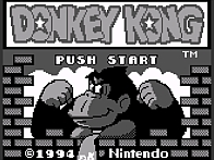 Donkey Kong for Gameboy